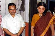 With Union Minister Ms. Maneka Gandhi